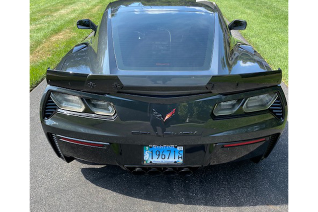 2019 Callaway Corvette SC757 - Rear View