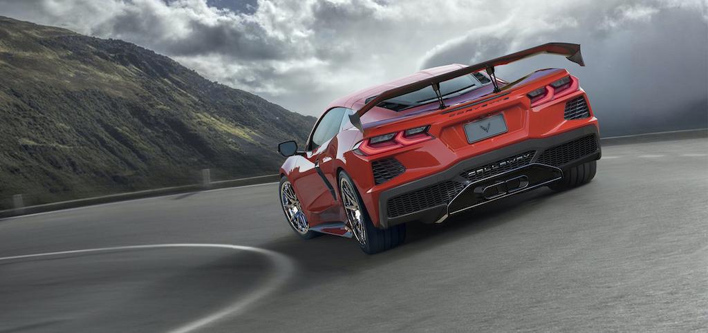 Callaway Corvette C8 - rear view