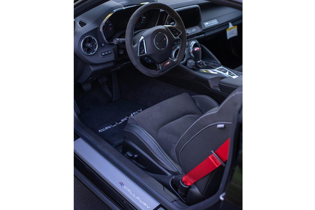 2021 Callaway Camaro SS SC630 - interior