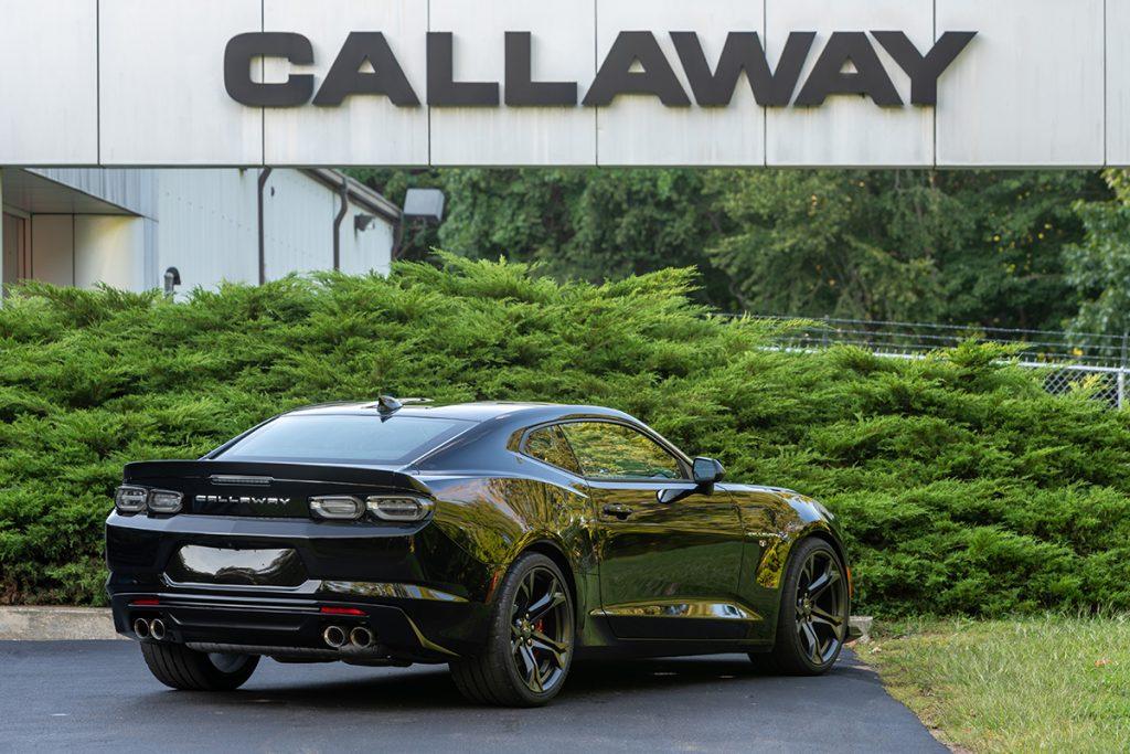2021 Callaway Camaro SS SC630 - rear view