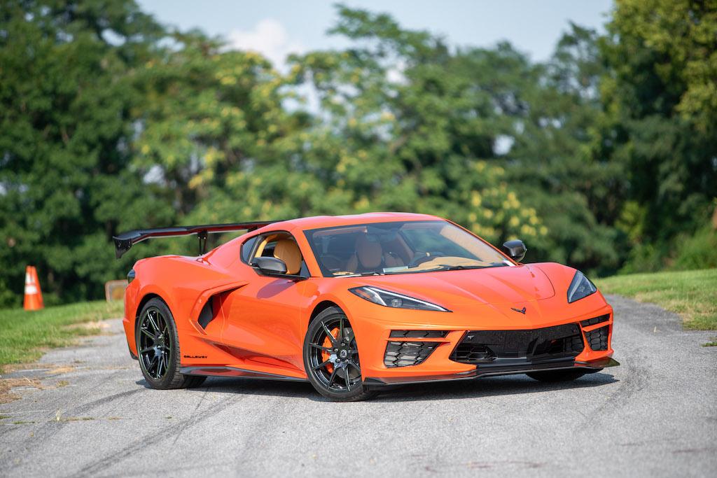"Callaway Corvette C8 ""Launch Edition"" - front view"
