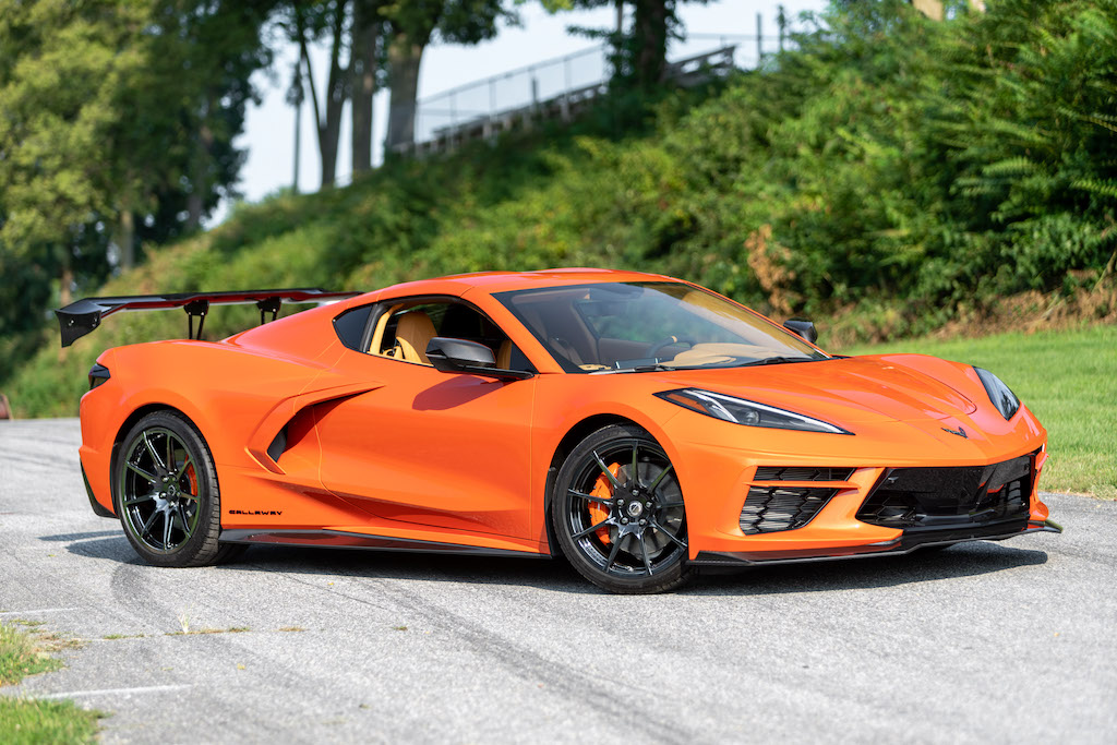 "Callaway Corvette C8 ""Launch Edition"" - side view"