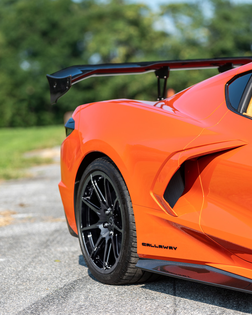 "Callaway Corvette C8 ""Launch Edition"" - rear quarter"