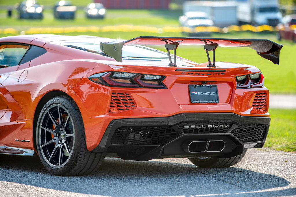 "Callaway Corvette C8 ""Launch Edition"" - rear view"